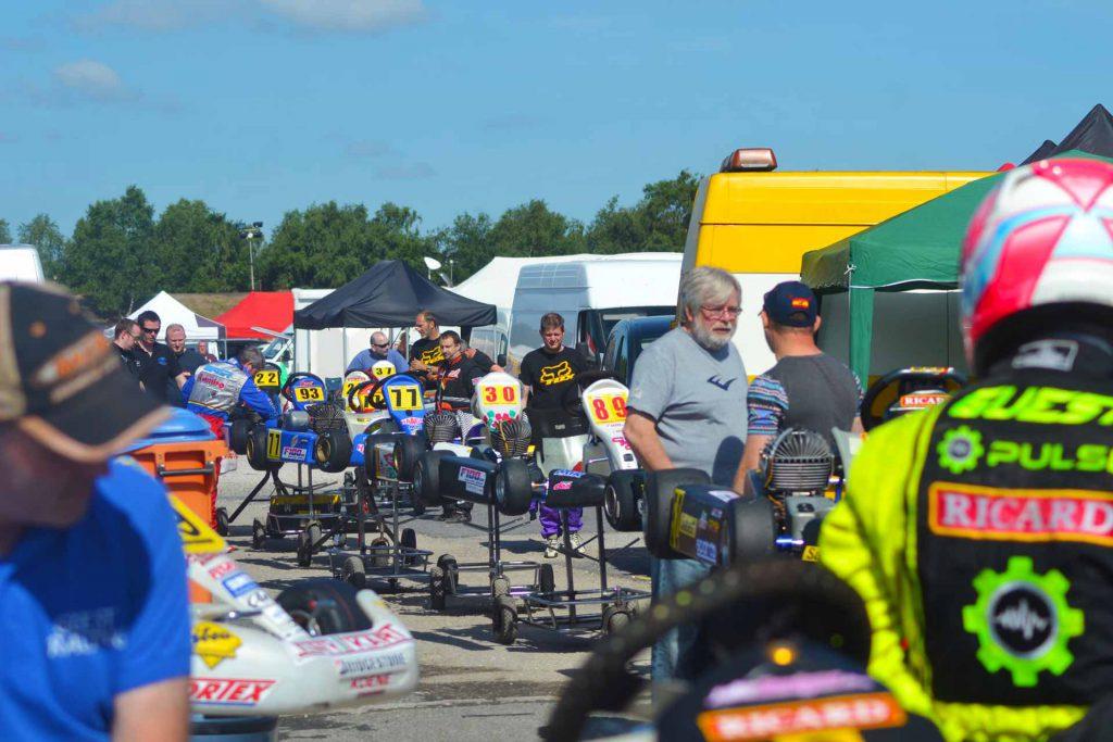 F100UK Raceday Paddock