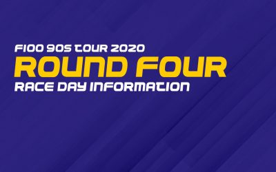 F100 90s tour 2020: Round four race day information